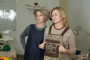 Дизайнеры Оксана Ткаченко и Наталья Кондрашева
